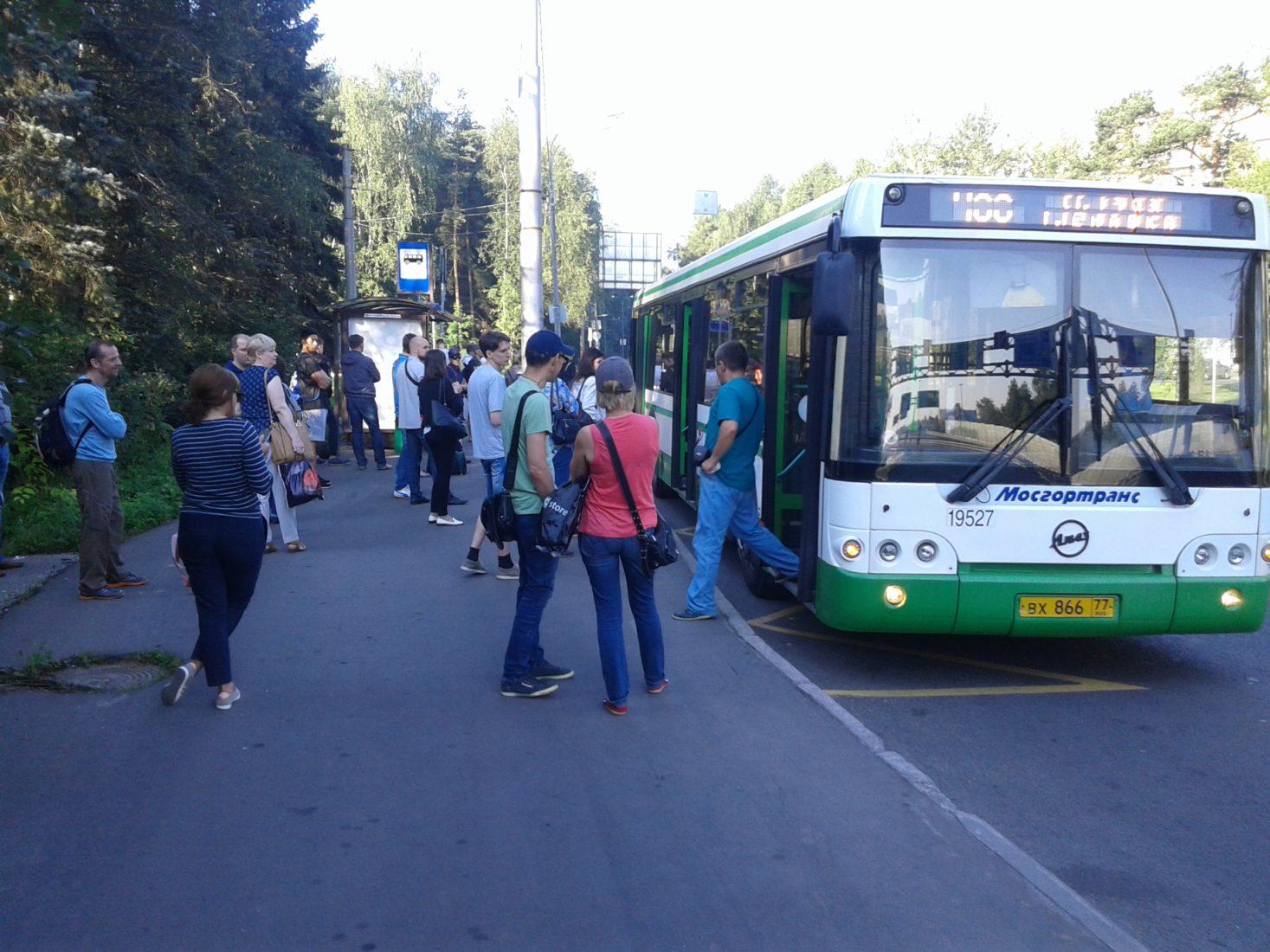 О транспорте в Зеленограде