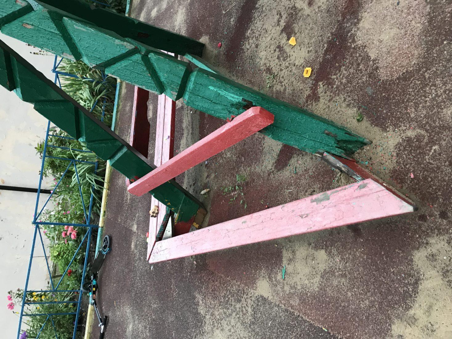 Необходима замена детской площадки в Москве