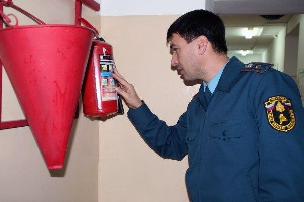Написать жалобу в пожарную инспекцию