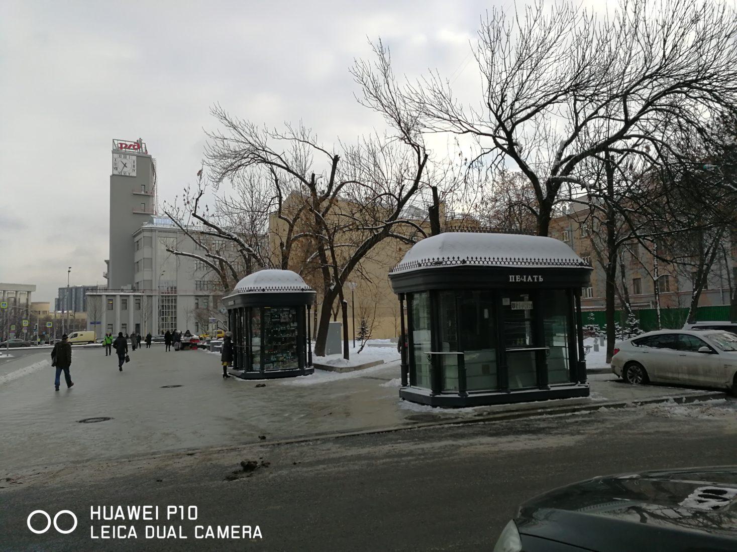 Благоустройство площади «Красные ворота»