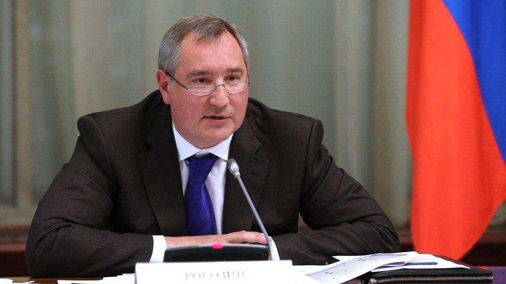 Написать письмо Д. О. Рогозину