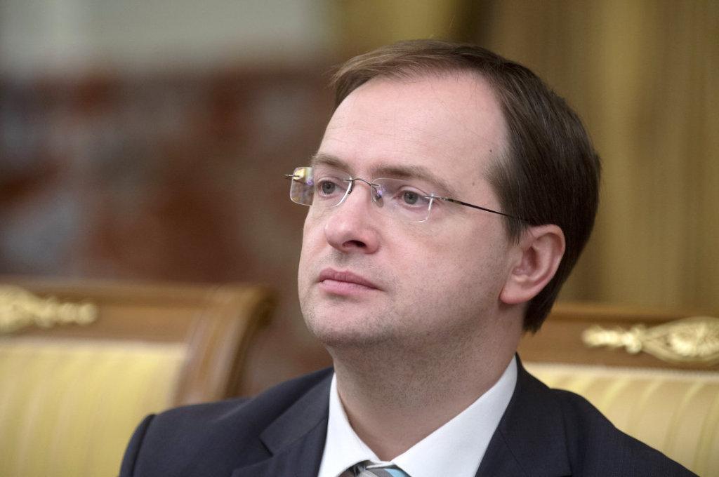 Написать письмо министру культуры РФ В. Р. Мединскому