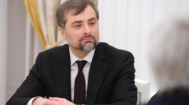 Написать письмо В. Ю. Суркову